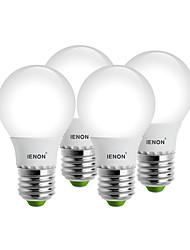 5W E26/E27 Круглые LED лампы G60 8 SMD 400-450 lm Тёплый белый / Холодный белый Декоративная AC 100-240 V 4 шт.