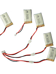 Syma X5C/X5C-1 Explorers Parts X5C-11 3.7V 500mAh Update 3.7V 650mAh Lipo Battery 3 in 1 Cable line x 5pcs
