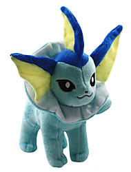 Pocket Little Monster Model Vaporeon Soft Plush Stuffed Doll Toy