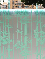 Country Beautiful Bamboo Pattern Window Film