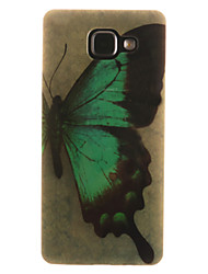 For Samsung Galaxy Case IMD / Pattern Case Back Cover Case Butterfly Soft TPU Samsung A7(2016) / A5(2016) / A3(2016) / A5 / A3