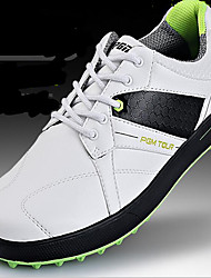 Men's Sneakers Spring / Summer / Fall / Winter Leatherette Outdoor / Athletic Flat Heel Gore Black and White Golf / Tennis