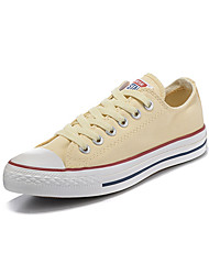 Converse Chuck Taylor All Star Core Men's Shoes Canvas Outdoor / Athletic / Casual Sneaker Flat Heel Red / Beige
