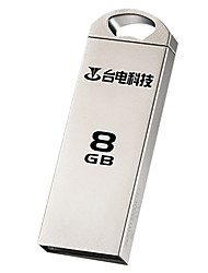 Teclast mini disco u 8gb usb2.0 flash drive impermeável criativo usb do metal