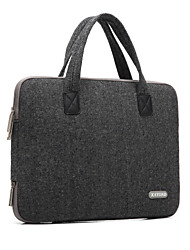 "Handbag for Macbook Pro 15.4"" Solid Color Textile Material Woolen British Style Laptop Bag Notebook Computer Bags"