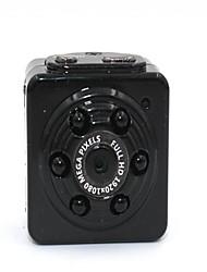 hyq9 na webcam HD câmera mini-dv com 6pcs levou luz