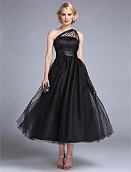 Baile de Fim de Ano / Evento Formal / Festa de Casamento Vestido - Inspiração Vintage / Anos 50 Linha A / Princesa Mula MancaAté o