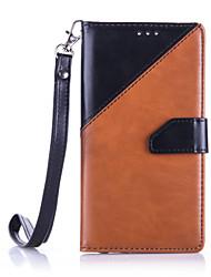 Pour Coque Huawei P9 P9 Lite Porte Carte Portefeuille Antichoc Etanche à la Poussière Avec Support Coque Coque Intégrale CoqueCouleur