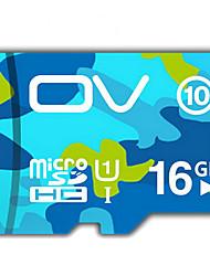 ov 16 gb tf tarjeta de 16 GB tarjeta de memoria vehículo grabador de datos que viaja de alta velocidad camuflaje tarjeta de memoria c10