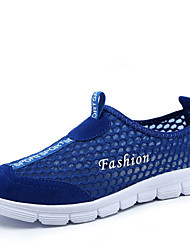 Men's Shoes Tulle Outdoor / Work & Duty Fashion Sneakers Outdoor / Work & Duty Track & Field Flat Heel