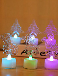 Colorful LED Candle Christmas Tree Night Light