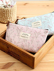 Korean Version Of The Pastoral Style Small Floral Floral Cosmetic Admission Package Large Capacity