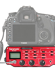 SR-AX107 Rojo 9V Battery micrófono del estudio