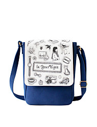 Flower Princess® Women Canvas Shoulder Bag Blue-1603X001