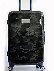 Unisex-Outdoor-Metal-Luggage-White / Blue / Green / Black