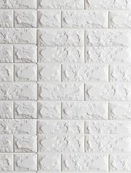 3D Tapete Zeitgenössisch Wandverkleidung , PVC/Vinyl Stoff Selbstklebend Tapete , Zimmerwandbespannung