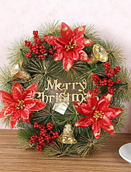 30 cm Pine Needle Christmas Garland Decoration Supplies Christmas Wreath