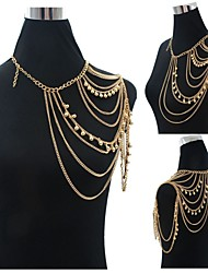 Body Jewelry/Belly Chain Body Chain Acrylic Fashion Gold 1pc