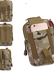 Outdoor Tactical Pockets Unisex Oxford Cloth Camouflage Pocket Camping Riding Pockets