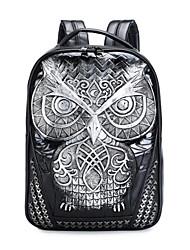 Спортивный Рюкзак Для женщин Полиуретан Золотистый Серебристый Черный