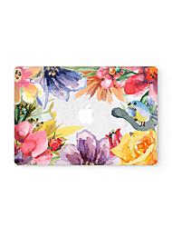 MacBook Retina Front Decal  Laptop Sticker watercolor Flower for All Macbook