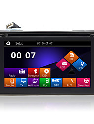 "6.2 ""TFT touch screen 2DIN no painel do carro dvd player com gps, a BT, rádio, sd / usb, RDS, phonelink"