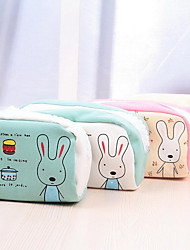 The Rabbit Large Capacity Pen Bag Creative Pencil Bags