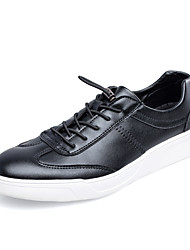 Men's Fashion Shoes Casual/Travel/Student Breathable Microfiber Board White Sneakers