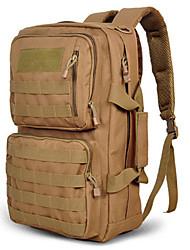 30 L sac à dos Camping & Randonnée Extérieur Etanche Noir / Marron / Camouflage Nylon