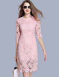 maxlindy Frauenarbeit / Partei / Cocktail / Urlaub Jahrgang / Club / anspruchsvolle, figurbetontes Kleid
