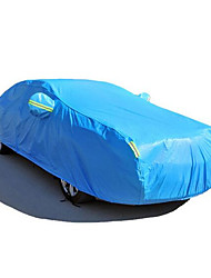 Automotive Supplies Blue Nylon Material + PVC Coating Car Cover 3M