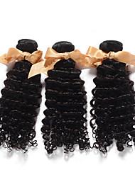 Человека ткет Волосы Индийские волосы Крупные кудри 1 шт. волосы ткет