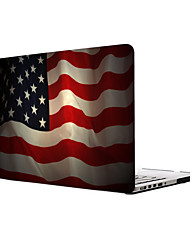 MacBook Case for Flag Plastic Material