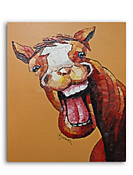 Canvas Painting Oil Painting Modern Cartoon Animals Wall Pictures Kids Room Wall Decor
