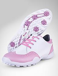Homme-Extérieure / Décontracté / Sport-Noir / Rose-Talon Plat-Confort-Sneakers-Microfibre