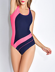 Women's Bandeau One-piece,Sport Polyester Blue