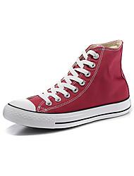 Zapatos de Hombre-Zapatillas de deporte-Exterior / Casual / Deporte-Tela-Rojo