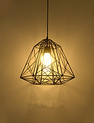Retro Contracted Metal Hive Pendant Lights, Creative Black Painting Kitchen light Fixture