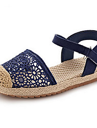 ДЕВУШКА-Сандалии(Синий / Фиолетовый / Бежевый) -С круглым носком / Сандалии / Удобная обувь