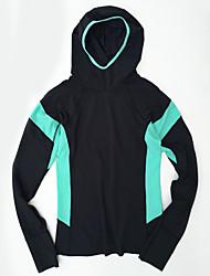 Women's Long Sleeve Running Tracksuit Quick Dry Sports Wear Running White Black Orange Royal Blue