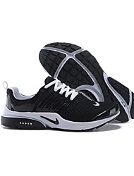 Nike Air Presto Running Shoes For Men's Nike Air Presto All Black Elastic Mesh And Rubbe Mens Sports Athletic Sneakers