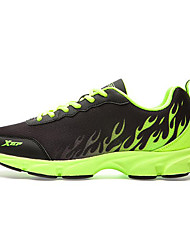 X-tep Running Shoes Casual Shoes Men's Anti-Slip Anti-Shake/Damping Waterproof Breathable Zero Wear-in Time Comfortable WearableOutdoor