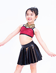 MiDee Children Dance Dancewear Children Adults Jazz Dance Wear Outfits