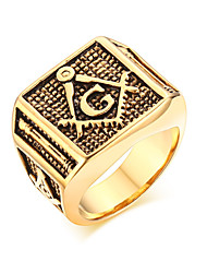 Rock Character G 18K Ring