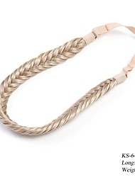 Women's Fashion Hair Accessories Synthetic Plaited Headband 26cm Blonde Colors