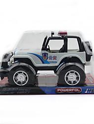 Инерционный полиция сув модель игрушка автомобиль