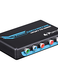 PORTTA PETRH RCA Component RGB YPbPr to HDMI v1.3 HDCP Video Audio Converter Adapter