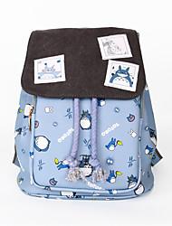 Bolsa Inspirado por Meu Vizinho Totoro Fantasias Anime Acessórios de Cosplay Bolsa / mochila Preto Náilon Masculino / Feminino