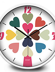 Love Decoration Wall Clock Home Furnishing Mute