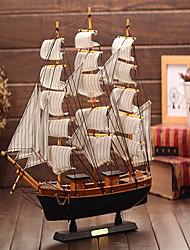 o modelo de vela de madeira de ornamentos de madeira de estilo mediterrâneo